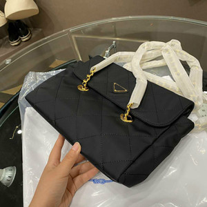 New Women's Designer's Handbags Shoulder Black Bags Large Capacity Small Size Fashion Style with Pockets PD20092313