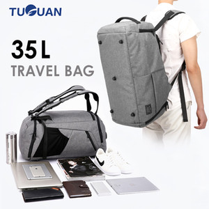 New Multipurpose Terylene Men Sport Gym Backpack Women Fitness Tote Bags With Shoes Storage Outdoor Hiking Anti-Theft PC Pack