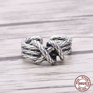 925 sterling silver ring male Japanese and Korean personality tide retro hipster woven net red single opening 2019 new hot