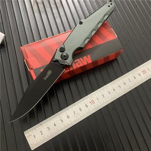 Kershaw 7900 Couteau automatique de lame CPM 154 Poignée en aluminium de chasse Couteau de poche AUTO Camping Couteau tactique outil EDC