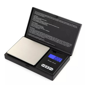 Pocket Scale 200g x 0.01g Electronic LCD Digital Scales Precision Jewelry Scale Portable Multifunctional Weighing Scales HHB1805