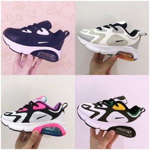 2020 New Kids Athletic Shoes Children Basketball Shoes Wolf Grey Toddler Sport Sneakers for Boy Girl baby Toddler size 28-35