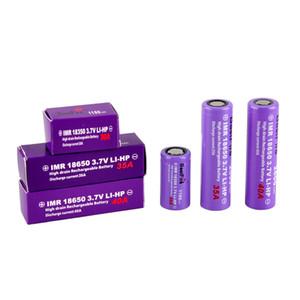 Batería de litio 100% original AuthentiTrustfire 18350 18650 Series Batería 1100mAh 30A 40A 35A 2600mAh 3000mAh Alto Consumo de descarga