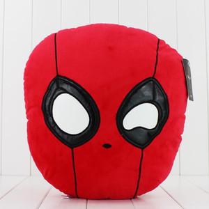 فيلم جديد Deadpool وسادة لينة القطيفة دمية لعبة للحصول على هدايا للأطفال PP القطن 35CM شحن مجاني نظم الإدارة البيئية