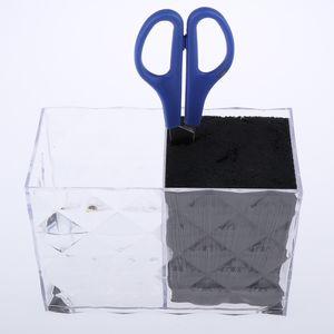 Dual Side волос Ножницы для хранения Case Стрижка Scissor Борода Shear Holder