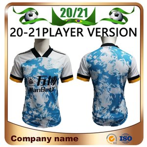 20/21 ADAMA Vitinha Player versione Calcio Maglia 2020 lupi blu assenti NETO NEVES RAUL Calcio Camicie Podence DIOGO J Calcio uniforme