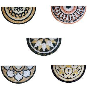 Marble Pattern Anti-Slip Doormat Floor Mat Entrance Front Door Floor Rugs Absorbent Bathroom Door Mat Entrance 30X60cm