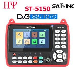 Satlink ST-5150 DVB-S2 DVB-T T2 DVB-C Combo Better Satlink 6980 Digital Satellite Meter Finder h.265 satlink ws-6933 kpt-716ts