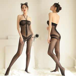 Sexy Lingerie Hot Costumes Underwear Sleepwear Open Crotch Socks Stockings Eye Mask Whip Paddle In Adult Games For Women x7570