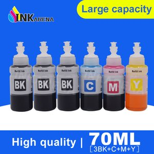 3BK C M Y Printer Ink Refill Kit для L100 L110 L120 L132 L210 L222 L300 L312 L355 L350 L362 L366 L550 L555 L566 Printer