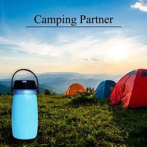 USB Rechargeable Solar Camping Light Sport Kettle 3 Level Lighting Portable Camp Lamp Power Bank Emergency Lantern Riding