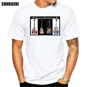 남성 티셔츠 잼 폴 웰러 기타 개조 스쿠터 링 디자인 T 셔츠 새로운 남성 피트니스 의류 스포츠 T 셔츠 탑