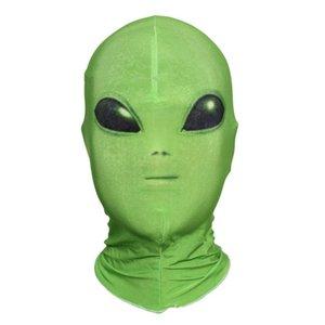 Extranjero caída de Halloween película T200620 Máscara Horror Entertainment Traje Nave Spandex Party Play etapa de frío Prop máscara cosplay hotclipper ngQyA