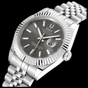 U1001 Mens Watch 41mm Automatic Movement Stainless Steel Watches Men Mechanical Designer Watches Luxury Wristwatches relogio mas
