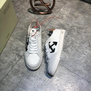 New arrivel 2019 scarpe da uomo di Design de Luxo formadores de plataforma cesta Montante cuir sapatos sapatos edição limitada # 3F