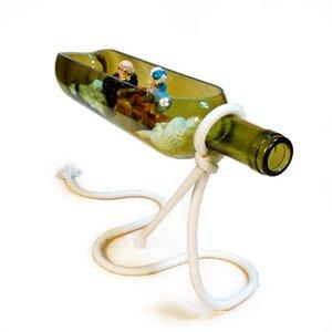 Bouteille de vin Accueil élégant Micro écologie du paysage Bonsai Creative Bureau du travail de bureau Suspension Arrangements Mini Aménagement paysager Bricolage 16HD p1