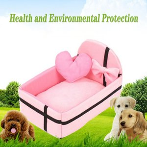 Pet Cani Gatti letto Cute Princess Style Dog House sfoderabile e lavabile Canile Piccola Grande Puppy Sleeping Mat