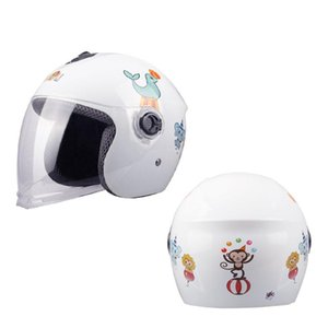 Дети мотоциклетный шлем Casco Moto Open Face ветрозащитный езда безопасности мотоциклов Шлем для Four Seasons Cascos Para Мото