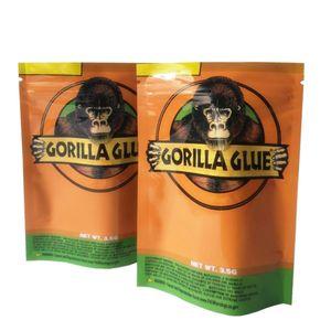고릴라 GLUE BAG 3.5G 마일 라 지퍼 가방 증명 포장 패키지 고품질 DHL 무료 냄새