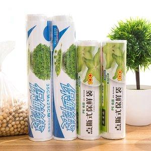 Lebensmittel Obst Aufbewahrungstasche Verpackung Plastiktaschen Saran Wrap 1 Rolle Küche frisch zu halten Heat Sealer Food Saver Bag Vacuum