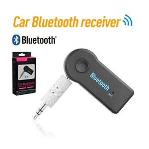 Car Bluetooth receiver real stereo 3.5mm Bluetooth wireless 4.0 Audio Music receiver stereo BT 3.0 portable adapter automatic aux car Blueto