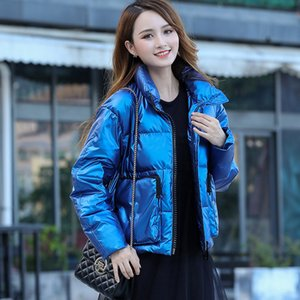 Winter Women Down Jacket Fashion Korean Style Woman Parkas Bright Color Female Coat Women's Jackets Doudoune Femme 2020 WPY1176