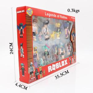 gioco roblox mondo virtuale che circonda le bambole e bambole grande collezione di giocattoli assemblati per bambini decorazione della costruzione del modello di blocco