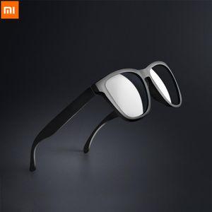 Xiaomi Mijia Youpin TAC klassische quadratische Sonnenbrille für Mann Frau polarisierte Objektiv One-piece-Design Sport treibenden Sonnenbrille
