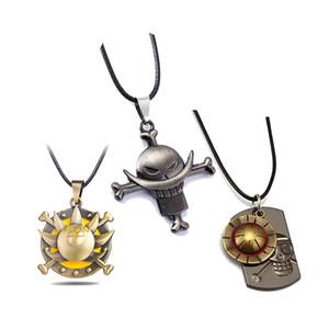 ONE PIECE Necklace White beard Luffy Zoro Ace Sanji Anime Pendant Necklace Friendship Men Women Jewelry Choker Accessories