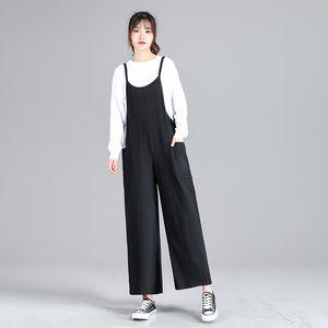 Fashion Jumpsuit For Pregnant Plus Size Pregnancy Clothes Ankle-length Pants Mother Wear Overalls Maternity Clothes Pants 2027