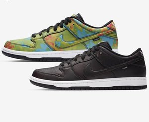 2020 nike dunk SB Low Civilist x SB dunks Low Running Shoes black Heat source reaction multi-color men women Sports Sneakers CZ5123-001