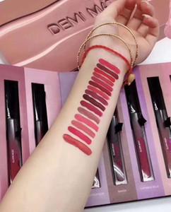 Hot Brand Beauty DEMI Matte Lipstick 15pcs set Liquid matte 15colors Lip Gloss high quality Gift with free shipping