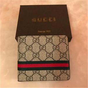 Designer Brieftasche Designer-Handtaschen Louis Vuitton Frauenmappenmappe Mens Entwerfergeldbeutel Kartenhalter aus echtem Leder mit Box 2020