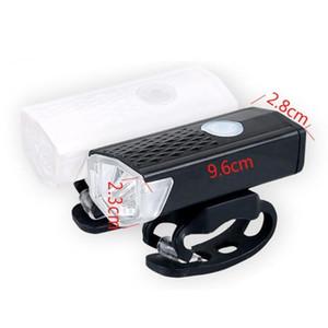 Oplaadbare Fiets Licht 300 Lumen 3 modes Koplamp vélo Fiets Lumières Zaklamp Licht Courir K 6000 avant Dynamo R9G1