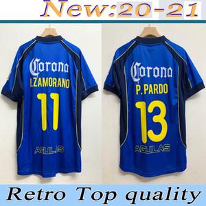 11 # i.zamorano 2001 2002 Club America Soccer Home Jerseys.ersey Rodriguez América Jersey 01 02 Giovani Football Shirt G. 2020 21 Club America