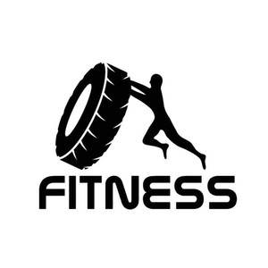 13.5*10CM Interesting Fitness Weight Training Car Stickers Handsome And Cool Stickers