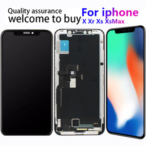 For iPhone XR XS MAX Lcd For iPhone X LCD Display Screen 3D Digitizer Touch Screen Assembly Oled