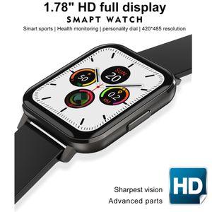 "1.78"" Full HD Display DT X Smart Watch BT5.0 IP68 Waterproof ECG Monitoring Smart Wristband Bracelet Health Fitness Tracker"