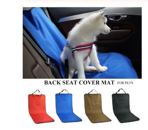 Car Waterproof Back Seat Pet Acessórios de Viagem capa protetora Mat Segurança traseira para Cat Dog Pet Carrier Car Voltar traseira Mat Assento