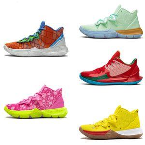 Kyries 5 وصول أحذية رجالي أحذية كرة السلة 5 لرخيصة 20th الذكرى الإسفنج X IRVVVE 5S V خمسة حذاء