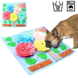 Dog Puzzle Spielzeug Pet Snuffle Matten-Hundefutter Mat Riechen Training für Stress Relief Pet Interactive Spiel Ausbildung Blanket