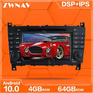 IPS Android 10.0 DVD Player GPS Navi For   W203 W209 W219 A-Class A160 Auto Radio Stereo Multimedia Player Head Unit car dvd