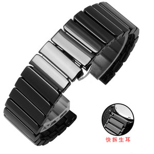 Ceramic wrist strap for Apple Watch 4 Band 38mm 42mm Link Bracelet belt for iwatch
