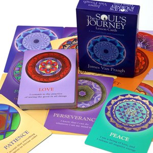 2020 The Soul Journey Lesson Cards: A 44-Card Deck and Guidebook Cards Spirit Communication And Counseling Optimal Growth And Soul