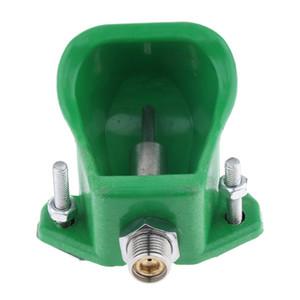 1/2 \ '\' Alcol tubo Farm Equip automatico d'acqua della ciotola Drinkers per gli ovini Capra, Verde