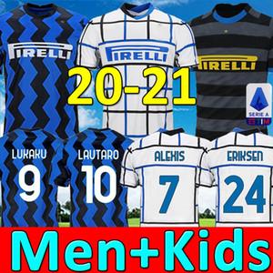 Top qualità della Tailandia 20 21 Lukaku Lautaro camisetas maglia da calcio Eriksen futbol 2020 2021 ALEXIS corredo di calcio shirt bambini insieme