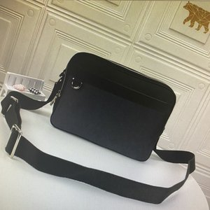 N40087 Real Leathe Messenger Bag Mens Crossbody Bags Set Fashion Leather Man Shoulder Bag Storage Clutch Purse Date code 40087
