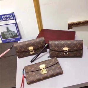 Die modische Art und Weise zu tragen Geld, CARDS und Münzen, Frauen Lederbrieftasche Kartenhalter lange Geschäft, Damen Brieftaschen