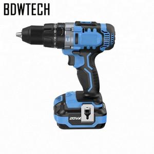 Bodewtech BT372 tournevis électrique sans fil Perceuse 20 volts CC Batterie Lithium-Ion 1/2-Inch 2 vitesses Retour libre SBBF #