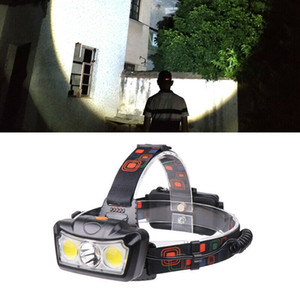 T6 COB LED Headlamp Head Flashlight Torch Fishing Headlight LED Forehead Lamp L